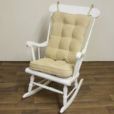 Found it at Wayfair - Rocking Chair Cushion Set
