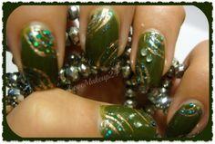 Tutorial Nail Art – Military Green - Tentazione Unghie