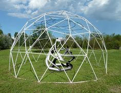 Spiral Dodecahedron in the Maker's Dome