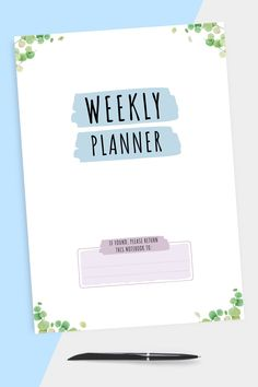 Hardcover Monthly Glance Month is easy to use. It has a simple design. Planning will take a couple of minutes because you don't need to fill in some extra info. #weekly #planner #journal #daily #organizer