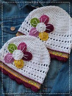 The magic of my home: crochet month II. Crochet Kids Hats, Crochet Beanie Hat, Crochet Cap, Knitted Headband, Crochet Crafts, Crochet Clothes, Crochet Projects, Knitted Hats, Crochet Leaf Patterns