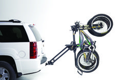 Softride - Hitch Mounted Bike Rack - Hangs Bikes Vertically from Handle Bars with No Frame, Fork, Cable or Hydraulic Line Contact. Hitch Mount Bike Rack, Bicycle Rack, Bmw X5, Mountain Biking, Baby Strollers, Cyclists, Trailers, Vehicle, Unique