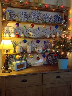 Christmas Kitchen Dresser