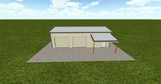 Cool 3D #marketing http://www.muellerinc.com/design/?email=info@viral3d.com&project=S-20161110015248 #barn #workshop #greenhouse #garage #roofing #DIY