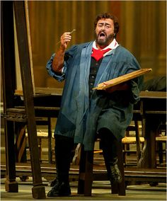 Vintage 2004, Pavarotti at the Met, NYC, www.RevWill.com