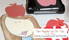Ten Apples Up on Top Literary Connection - Laura Kelly's Inklings Fun Activities, Apples, Books To Read, Connection, Lunch Box, Classroom, Printables, Teaching, Awesome