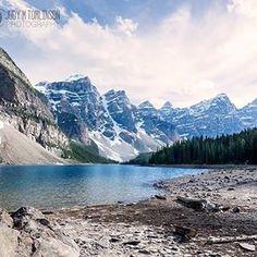 """Moraine Lake"" http://www.judymtomlinsonphotography.ca/. #printsforsale #alberta"