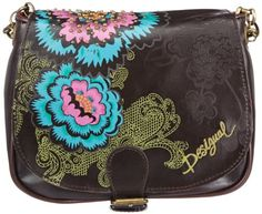 Bag Small Bag Embossed Flap Desigual, To SEE or BUY just CLICK on AMAZON right here http://www.amazon.com/dp/B00CE2FXL8/ref=cm_sw_r_pi_dp_39Avtb15XJYS810K