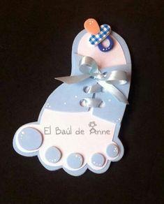 New Baby Shower Ideas Invitaciones Ideas Deco Baby Shower, Baby Shower Cards, Shower Party, Baby Shower Parties, Baby Shower Themes, Baby Boy Shower, Baby Shower Gifts, Shower Ideas, Moldes Para Baby Shower