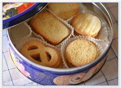 RICETTA biscotti danesi al burro da regalare a Natale in scatole di latta