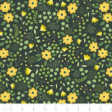 Designed by Alisse Courter for Camelot Fabrics, this bright and springy cotton print collection is perfect for quilting, apparel, and home decor accents. Colors include shades of green and shades of yellow, with white accents. Fabric Patterns, Floral Patterns, Computer Wallpaper, Shades Of Yellow, Accent Decor, Kids Rugs, Bright, Quilts, Etsy