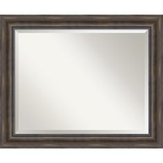 nice Bathroom Mirror Large, Fits Standard 30-inch to 36-inch Cabinet, Rustic Pine 34 x 28-inch Check more at http://hasiera.co.uk/s/bathroom/product/bathroom-mirror-large-fits-standard-30-inch-to-36-inch-cabinet-rustic-pine-34-x-28-inch/
