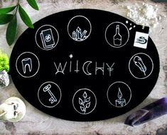 Cabinet Of Curiosities Glass Wall Sign Palmistry Brand New Novelty Gift