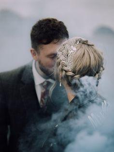 Smoke flares on a wedding shoot! Wedding Shoot, Dream Wedding, Wedding Ideas, Smoke Flares, Engagement Session, Engagement Photos, Smoke Bomb Photography, Gothic Wedding, Professional Photographer