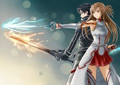 SAO+Kirito+and+Asuna+by+jastersin21.deviantart.com+on+@deviantART