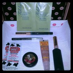 Body + Face + Hair Glam Kit Glam Kit Includes:  * 1 - Fekkai Glossing Shampoo and Conditioner   ( Sample Size )  $2.00 * 2 - Udderly Smooth Udder Cream for Body Ideal for soothing dry, cracked skin.  ( Sample Size )  $1.00 * 1 - Benefit Dr. Feelgood mattifying balm for face. ( 1.8g Sample Size ) $ 5.00 * 1 - Sara St.James Eyeliner in Charcoal  ( Full Size ) $ 5.00 * 1 - Sara St.James Mascara in Black  ( Full Size ) $ 5.00  * L.A. Colors Eyeliner / Brow Pencil  ( Full Size )  $2.00 * 1…