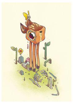 Illustration – Le monde étrange de T Wei (image)