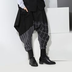 Cheap women harem pants, Buy Quality women fashion pants directly from China women pants Suppliers: 2017 Autumn and Winter New Loose Lace Women Pants Casual Striped Plaid Stitching Women Harem Pants Cotton Wild Fashion Pants
