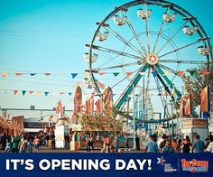 It's Opening Day! The fun starts at 4pm, share if you are coming today!