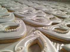 Beautiful mascarade ball Cookies
