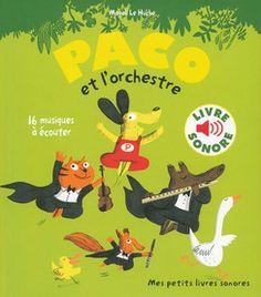Paco et les instruments de musique