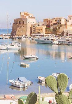 Castellammare del Golfo...it was beautiful there!