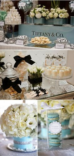 breakfast at tiffany's bridal shower | Wednesdays For Women: Breakfast At Tiffany's Inspiration | The Yes ...