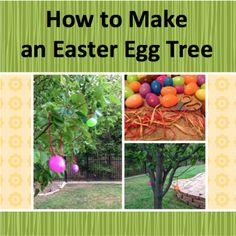 How to Make an Easter Egg Tree ~ Trendy Mom Reviews