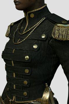 Dressed for the Fight - Victorian Guard Uniform by Aldo . - Dresses - Women in Uniform Looks Style, Looks Cool, Look Fashion, Womens Fashion, Fashion Design, Fashion Trends, Fashion Coat, Girl Fashion, Mädchen In Uniform
