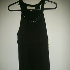 Michael Michael Kors top Beautiful tunic with jeweled embroidery around the neckline MICHAEL Michael Kors Tops