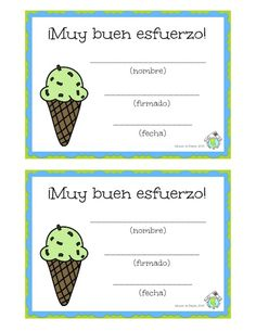 Free Spanish printables: certificates to recognize your students for their hard work! Mundo de Pepita, Resources for Teaching Spanish to Children http://elmundodepepita.blogspot.com/2015/05/super-cute-buen-esfuerzo-certificates.html