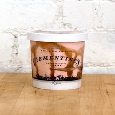 Strawberry Balsamic ice cream by Clementine's Creamery in St. Louis