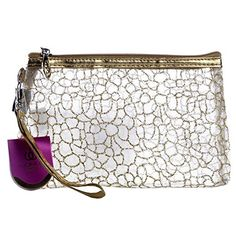 Portable Full Floral Waterproof Transparent Cosmetic Makeup Wash Beach Bag Toiletry Travel Pouch New (Gold) Iebeauty http://www.amazon.com/dp/B00SWP7FY4/ref=cm_sw_r_pi_dp_KO5axb0YK1VTJ