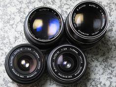 OYMPUS ZUIKO Lenses