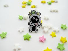 Soot+Sprites+are+adorable,+that's+a+fact.+    Also+known+as+Susuwatari+or+wandering+soot,+these+little+gremlins+have+made+appearances+in+the+two+fantastic+Studio+Ghibli+films+'My+Neighbour+Totoro'+and+'Spirited+Away'.+    Now+you+can+have+your+very+own+Soot+Sprite+to+feed+star+candy+and+hide+in+y...
