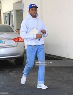 Tyler The Creator is seen on October 2018 in Los Angeles, CA. Tyler The Creator Outfits, Tyler The Creator Fashion, Boy Outfits, Cute Outfits, Fashion Outfits, Mia Tyler, Tyler The Creator Wallpaper, Estilo Hip Hop, One Of The Guys