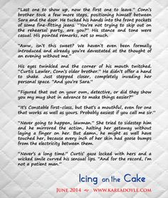 """Icing on the Cake by Karla Doyle """"Never is a Long Time"""""""