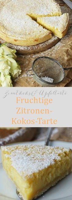 Zitronen-Kokos Tarte