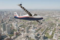 Startups plan to make hybrid airplanes, and eventually purely electric ones.