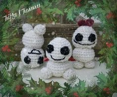 Snowbabies - free crochet pattern from Trifles N Treasures.