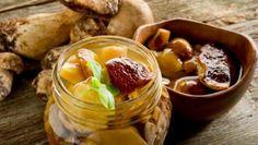 Ciuperci murate Chutney, Carne, Pudding, Canning, Desserts, Food, Pickles, Cold Cuts, Preserve