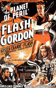 Flash Gordon Chapter 1 -  The Planet of Peril