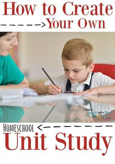 How to Create Your Own Unit Study. Homeschool curriculum you can create. - I have a Future and a Hope Creative Curriculum, Preschool Curriculum, Homeschool, Kindergarten, School Resources, Home Schooling, Kids Education, Kids Learning, Learning Tools