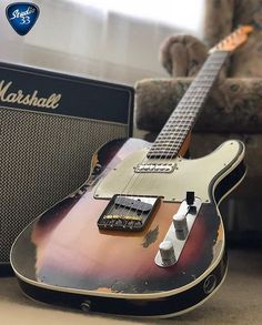 Who loves #Telecaster paired with a #marshallamp? Here's a great example from @bahadirpeker_  Happy #Teletuesday! #guitar #studio33guitar