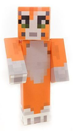 Stampy Cat Longnose Minecraft Figure Toy Collectible Ender Toys Series Steve New Product Description: This listing is for one posable action figure featuring the custom skin (avatar) shown in the product sample image. Toy is articulated at the arms & head. We use 3D printers to manufacture all plastic parts. All skins are applied using a water-resistant vinyl adhesive which is reinforced with a UV-resistant laminate for maximum longevity. Features: Made of plastic Assembled by hand Posable…