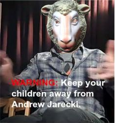 """""""They come to you in sheep's clothing, but inwardly they are ferocious wolves"""" -Matthew 7:15  http://andrewjarecki.wordpress.com/2014/08/05/andrew-jarecki-props-up-jesse-friedman-as-the-poster-boy-for-criminal-justice-reform/"""