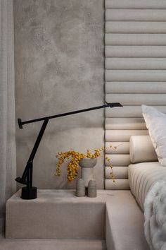 Alex P White pairs soft tones and raw textures in model New York apartment - Dr Wong - Emporium of Tings. Bedroom Vintage, Modern Bedroom, Bedroom Decor, Couple Room, Fall Home Decor, Cheap Home Decor, Interior Exterior, Interior Architecture, Interior Paint