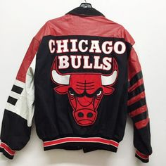 Chicago Bulls Leather Coat Hip Hop Outfits 8cb094340