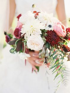 Beautiful flowers wedding bouquet