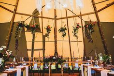 Top Table with Macrame hanging flowers - Sami Tipi Wedding image by Frankee Victoria Photography Wedding Images, Wedding Themes, Wedding Styles, Wedding Ideas, Tipi Wedding, Our Wedding Day, Wedding Blog, Garden Wedding, Wedding Table